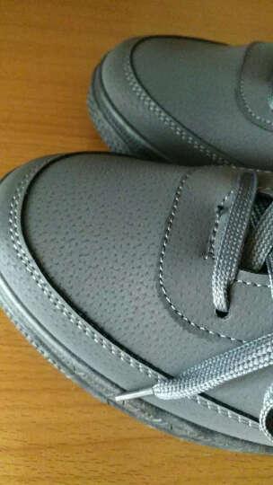 夏洛朗鞋子 男韩版潮流春季青少年学生鞋 运动休闲板鞋男生鞋子 太空灰 41标准码 晒单图