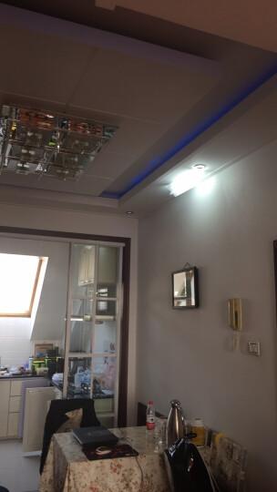 博勒宁LED灯板改造板吸顶灯改装灯板灯条长方形节能H灯管替换全套 30W-31cm长/6W*5条-白光 晒单图