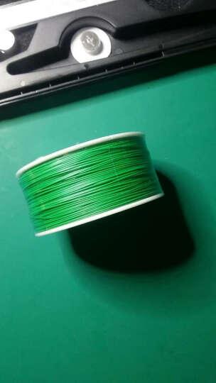 鹿仙子 OK线单芯铜线维修电路板飞线焊接连接线电子导线PCB跳线航空线十10色可选 绿色ok线 晒单图