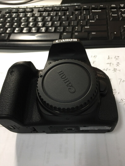 佳能(Canon)EOS 800D 单反相机 单反机身 单反套机 (EF-S 18-55mm f/4-5.6 IS STM 单反镜头) 晒单图