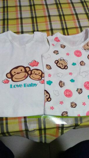 Babyprints 婴儿衣服 新生儿内衣 肩扣上衣背心两件装66cm(6-10个月) 晒单图