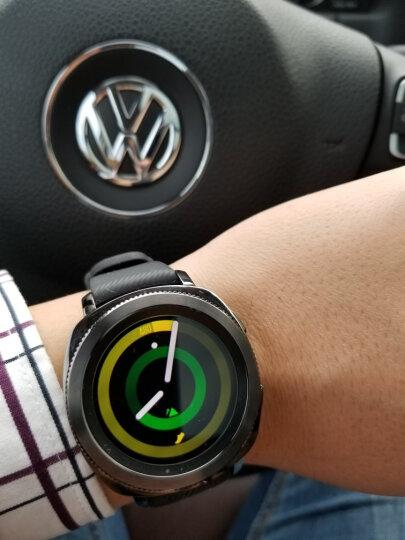 三星(SAMSUNG)Gear Sport运动手表 第二代智能手表 实时心率监测 GPS定位 兼容安卓和IOS 游泳防水 黑色 晒单图
