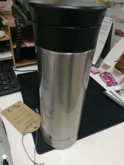 艾蒙多(膳魔师出品)男士商务真空不锈钢茶漏保温杯办公饮茶杯保冷杯直饮泡茶 GD 土豪金 500ML 晒单图