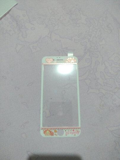 【买二送一】今首为 苹果6s钢化膜卡通彩膜3D全屏覆盖防指纹iPhone6plus手机膜女 6/6s-4.7英寸-桃花喵喵 晒单图