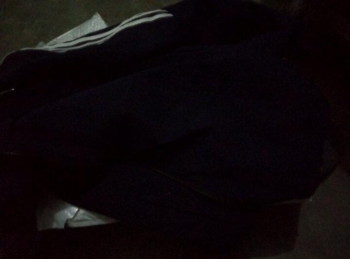 宾誉 夹克男2018春秋款季韩版时尚都市卫衣潮流长袖男装外套上衣 深蓝色 XL 晒单图