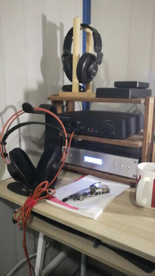 aune S7 台式耳放 全平衡耳机放大器 发烧级HiFi大驱动 多级并联大驱动功率放大器 低失真 黑色 晒单图