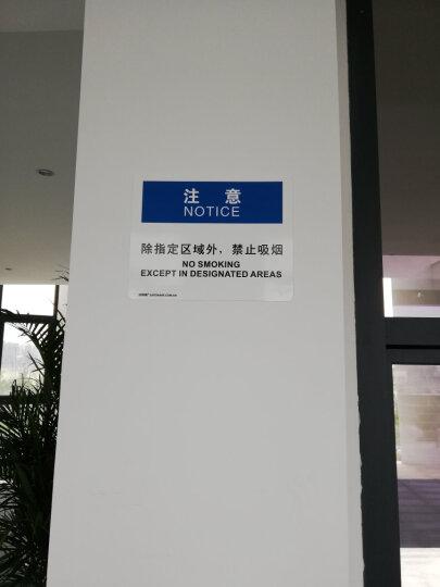 安赛瑞 防火警告标志牌(危险-汽油)塑料板安全标识牌 安全标志 250×315mm 31732 晒单图