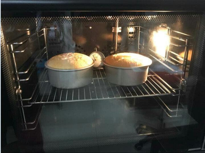 悍舒 电烤箱商用烤炉单双层不锈钢烘焙设备2000W大功率 高聚能单层加高内胆16CM 晒单图