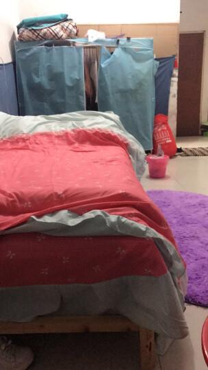 晶妃 床裙四件套 韩版床罩四件套双人 蕾丝花边床单公主风婚庆套件 韩国丽人 2.0米床被套220*240 晒单图