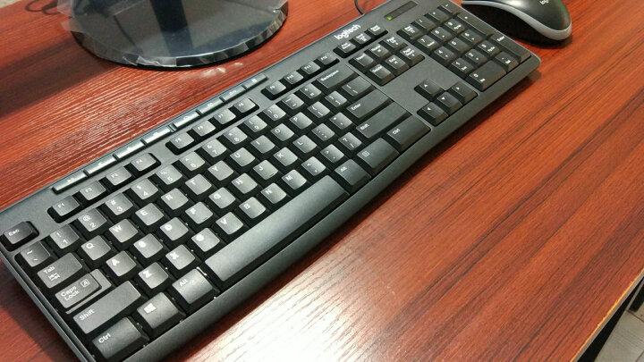 罗技(Logitech)MK200 多媒体套装 鼠标键盘套装 晒单图