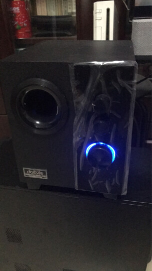 dostyle SD303 红外遥控2.1电脑音箱音响 5.25英寸单元 晒单图