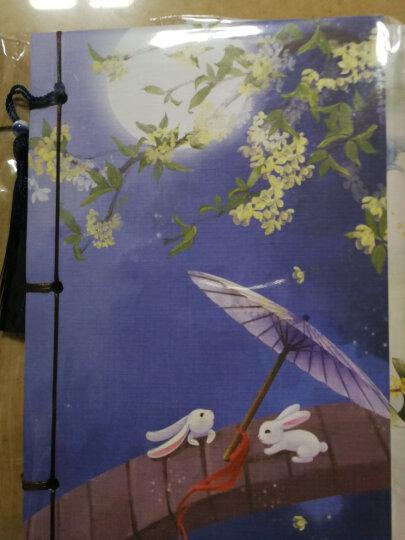 倾沫 不如归去古风本子笔记本文具 中国风复古礼品日记本 线装本记事本 歌尽桃花扇底风 晒单图