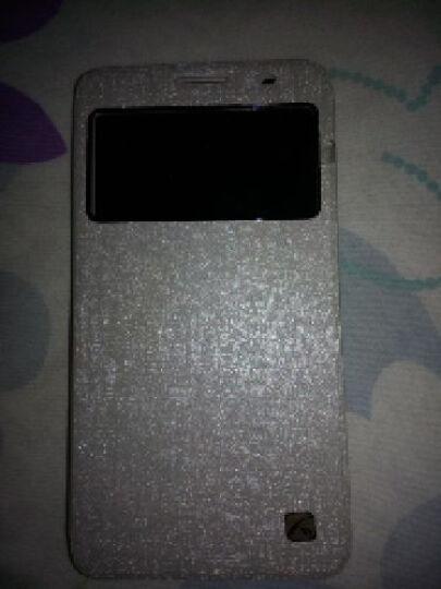 艾铭 华为荣耀3x视窗翻盖手机壳保护套 适用于华为荣耀3x畅玩版pro g750手机套 视窗触控-黑色 晒单图