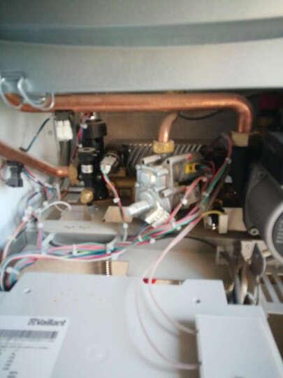 SASWELL 森威尔壁挂炉温控器 燃气锅炉液晶编程电池供电有线温控器908XWHB-7 白色 有线款(电池供电) 晒单图