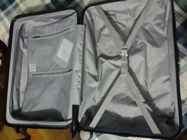 小米(MI)90分旅行箱拉杆箱 男女万向轮行李箱 24英寸 星空灰 晒单图