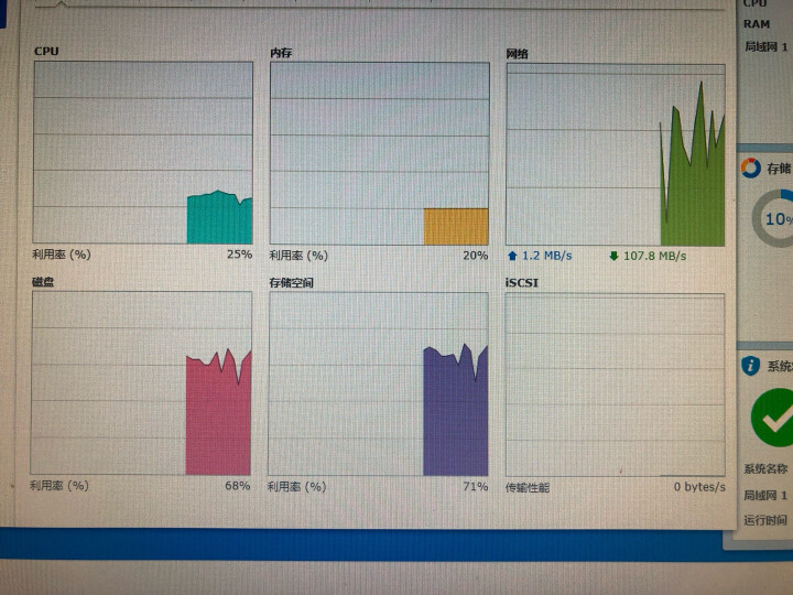 群晖(Synology)DS418 四盘位 NAS网络存储服务器 (无内置硬盘) 晒单图