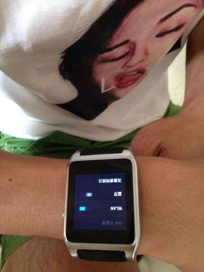 达沃奇 儿童智能电话手表成人可插卡男士防水wifi安卓超长待机多功能微信学生女运动手表拍照闪光灯学生 银色 晒单图