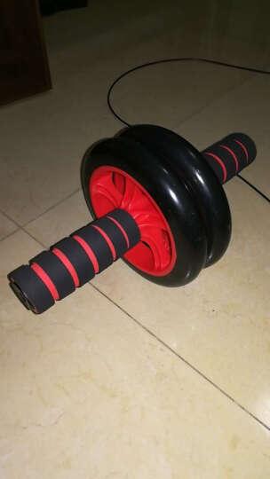 超级教练 健腹轮腹肌轮健腹轮套装俯卧撑架瑜伽垫健身垫腹肌滚轮健身器材腹肌健身器 健腹轮+俯卧撑架+跳绳 晒单图