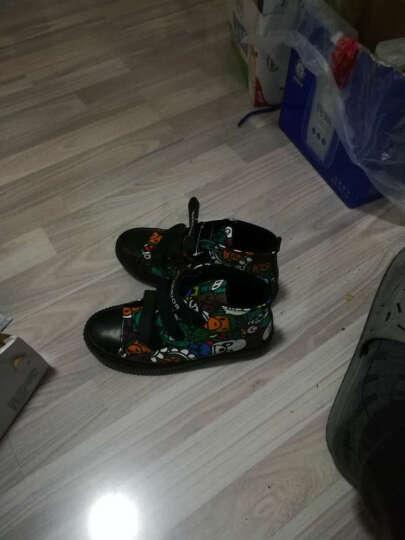 回力儿童雪地靴男女童靴子女童棉鞋宝宝冬鞋加绒保暖鞋子 紫色 33/内长21cm 晒单图