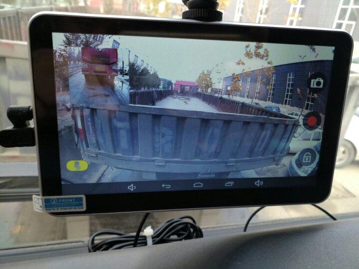 AIWALOT A1汽车货车7英寸车载GPS导航仪电子狗行车记录仪倒车影像蓝牙通话一体机 双地图导航+前后记录+固定测速+倒车+32G卡 晒单图