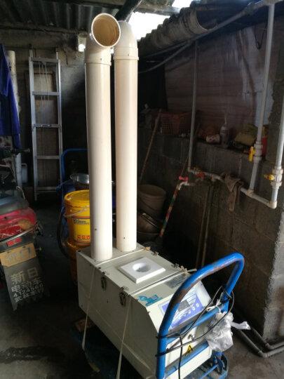 湿腾 工业加湿器商用超声波加湿机大型增湿器机房厂房仓库空气增湿机 120-150平米用 加湿量12kg/h 喷漆 晒单图