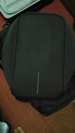 圣诞节礼物XDDESIGN蒙马特城市安全防盗背包电脑包书包生日礼物男生女生实用情人节礼物 黑色 晒单图