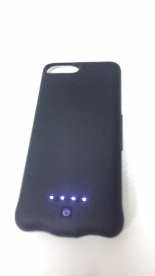 【次日达】泰火超薄小巧充电宝手机壳iphone6背夹电池移动电源苹果7/8plus/XR/XSMAX 苹果X/XS专用升级大容量睿智黑 晒单图