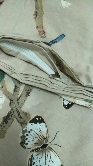 香亲 纯棉被套单件 棉加绒全棉被套四件套 学生单人双人床纯棉被套被罩 粉菲花韵(棉+绒) 被套单件 180*220 晒单图