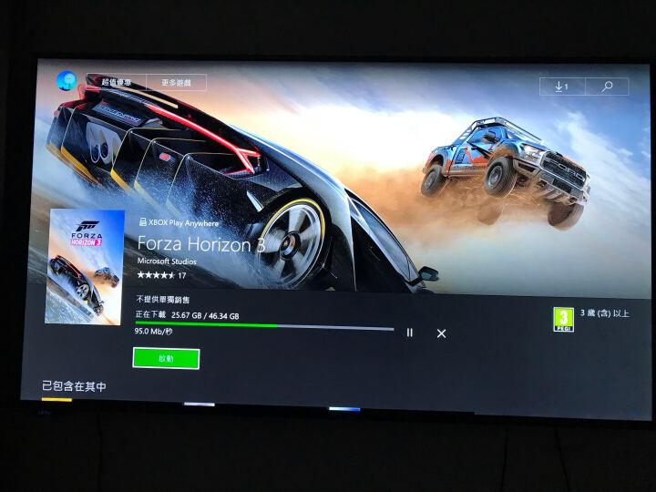 微软(Microsoft) Xbox one s版x版家庭家用休闲娱乐体感游戏机主机带手柄 家庭娱乐体感套装 X版 晒单图