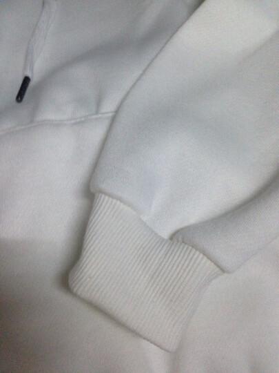 N.s Zone卫衣女长袖宽松中长款纯棉韩版学生2018春秋装新品大码女装加绒连帽卫衣女套头 红色 XL(适合100-110斤穿) 晒单图