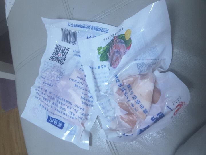 豪感角 海南鲜冻鳄鱼肉 200g*4 袋装 养殖鳄鱼肉 晒单图