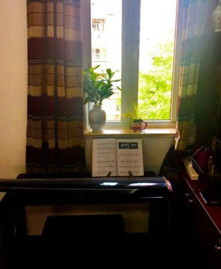 相约 古琴桌凳专业教学组合套装 老桐木仿古加长加宽实木榫卯结构国学书法桌茶几桌整件套 桐麦色梅心款 1.1m 晒单图