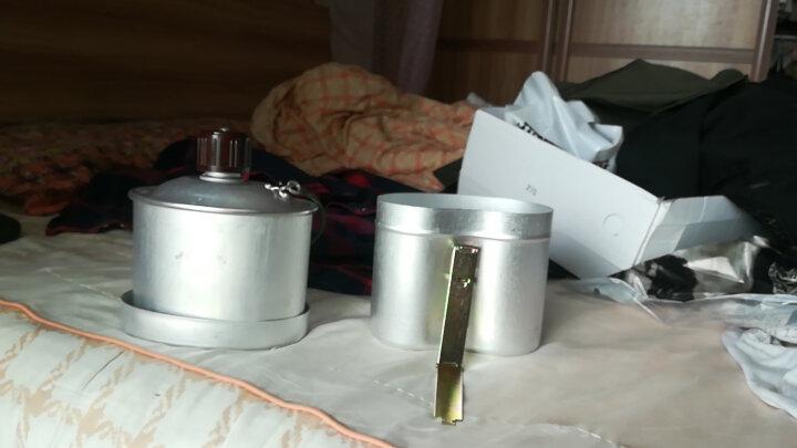 多功能户外军品铝制78式水壶 1L 大容量带饭盒铝锅 军迷旅行登山户外炉具 晒单图