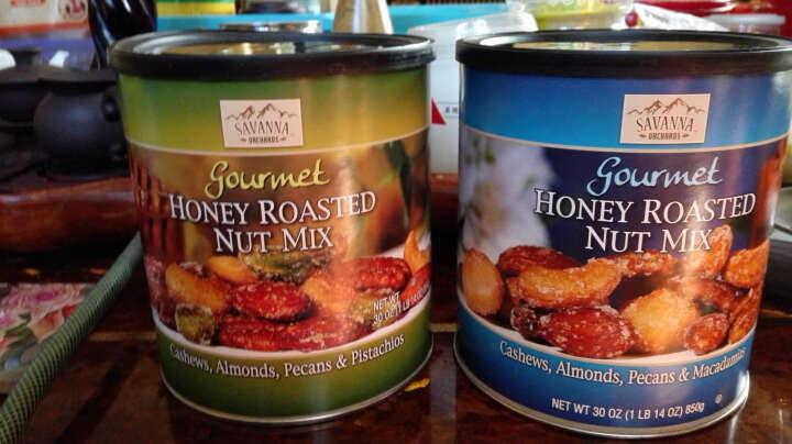 美国进口坚果Kirkland柯克兰休闲零食 全球购进口 蜂蜜香烤混合坚果850克绿罐 晒单图