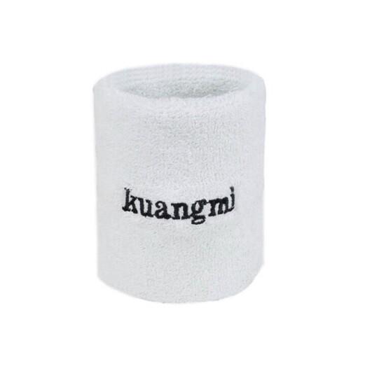 狂迷护腕 棉手腕护套吸汗擦汗运动护具 单只装 白色 均码 晒单图