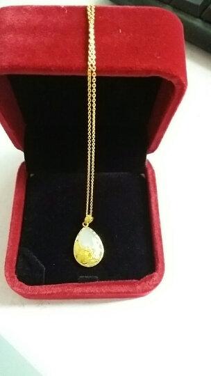 周六福黄金项链怎么样 周六福黄金项链多少钱 周六福黄金项链价格,图片