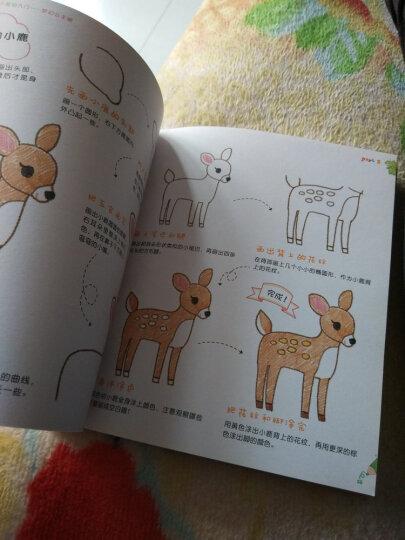 儿童色铅笔基础入门 可爱动物画 晒单图