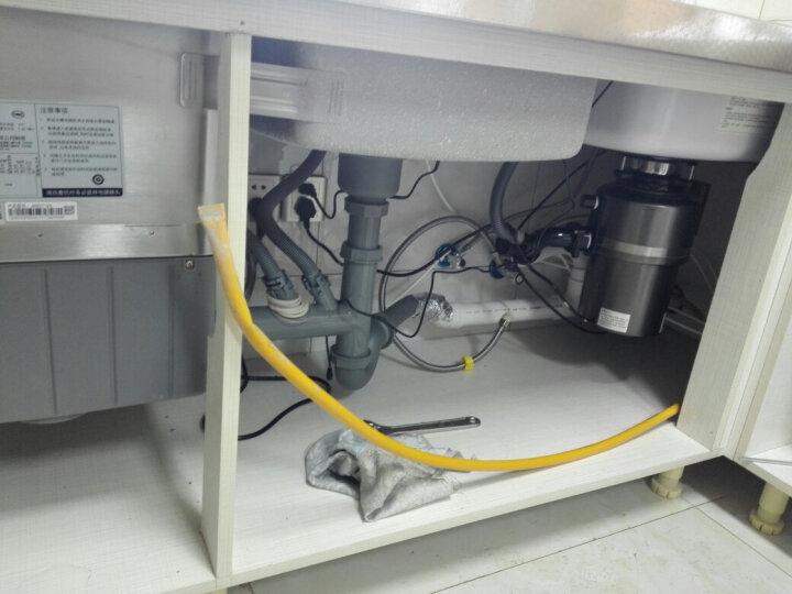 品勒(PiADLIEK) 厨房食物垃圾处理器家用食物残渣处理机厨余粉碎机(全国联保)PL560 升级遥控款玫瑰金 晒单图