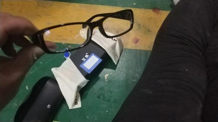 百飒(BYZA)防辐射眼镜 防近视平光镜 全框男女款 通用潮流眼镜架防蓝光电脑游戏护目镜 小号-紫色-防辐射平光镜 晒单图