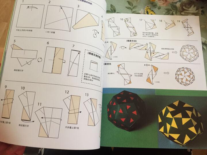 玩转组合折纸:绚丽多面体 晒单图