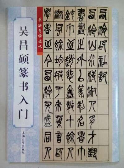 吴昌硕篆书入门 晒单图