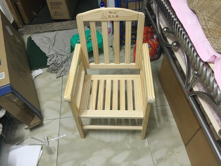 特儿福(TEERFU) 特儿福儿童餐椅实木宝宝餐椅多功能婴儿餐椅可折叠宝宝吃饭餐桌 MY902画板餐椅(棉坐垫随机赠送) 晒单图
