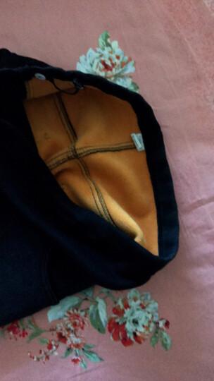 我魅妮美孕妇装春夏装2018新款孕妇连衣裙棉质打底上衣套装孕妇托腹打底裤两件套 黑色上衣(长袖) M 晒单图