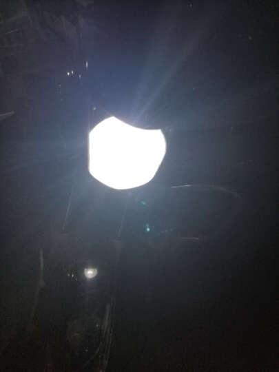 魔法师55W摩托车疝气灯套装 快启石栏氙气灯HID大灯改装 摆角灯H6 H4远近疝气大灯炮 65W超高亮 1秒瞬启疝气灯套装 6000K 纯白光 晒单图