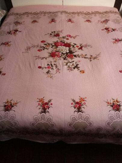老式床单直边棉丝光加厚棉布1.5m5双人1.8m国民被单 粉色 平纹 230cmx250cm 晒单图