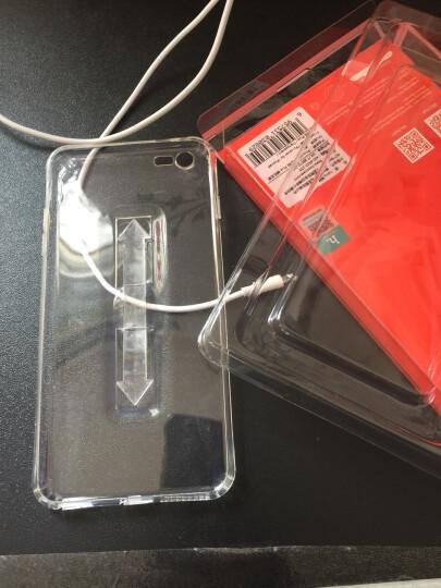 浩酷(HOCO) 指环支架手机壳保护套 适用于苹果iPhone6/6S/plus 6/6S纤影系列-黑色 晒单图