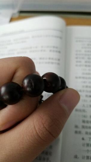 吉木 佛珠手串 本命年转运手链念珠 生日节日礼物男女款 小叶紫檀0.8cm108颗 晒单图