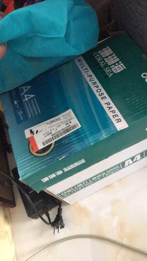 得力(deli)珊瑚海5包装80gA4复印纸  500张/包 整箱2500张 晒单图