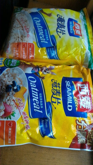 西麦 早餐谷物 膳食纤维 即食 纯燕麦片1480g(新老包装替换中) 晒单图