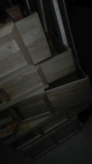 家逸(JIAYI) 家逸 实木收纳柜置物盒收纳箱百搭储物箱木箱子 小号箱子两个 晒单图